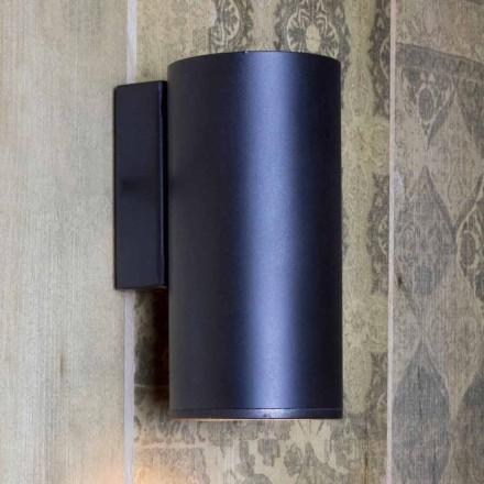 Llambë muri prej hekuri cilindrike e punuar me dorë e prodhuar në Itali - Gemina