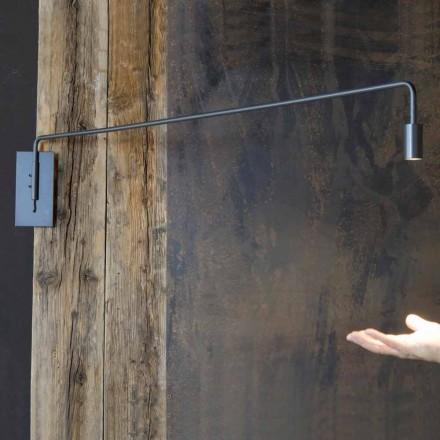 Llambë muri e punuar me dorë me strukturë hekuri prodhuar në Itali - Solana