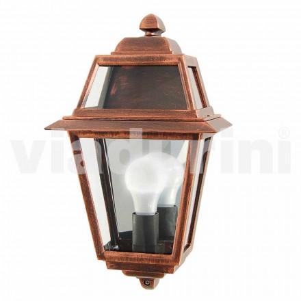 Llambë klasike në natyrë klasike e bërë me alumin, e bërë në Itali, Kristel