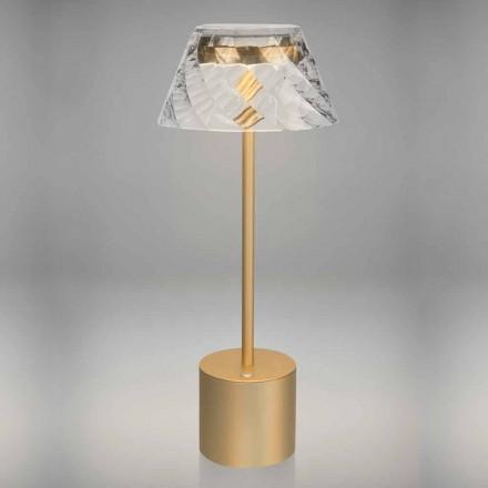 Dizajni Llambë Tavoline e Led me Prekje në Metal dhe Akrilik - Tagalong
