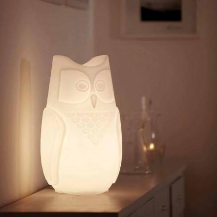 Llambë tryeze me ngjyrë owl me ngjyra Slide Bubo, prodhuar 100% në Itali