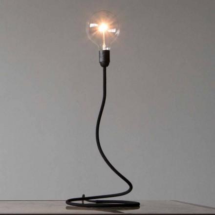Llambë tavoline me strukturë bakri Dizajn modern i prodhuar në Itali - Minimumi