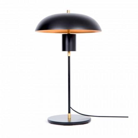 Llambë tryeze Artizanale e Dizajnit në Hekur dhe Alumini Prodhuar në Itali - Marghe