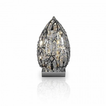 Llambë tryeze kristal në formë veze Veza