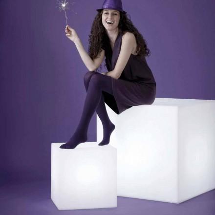 Llambë në formë kupe në tryezë / dysheme Slide Cubo, prodhuar në Itali