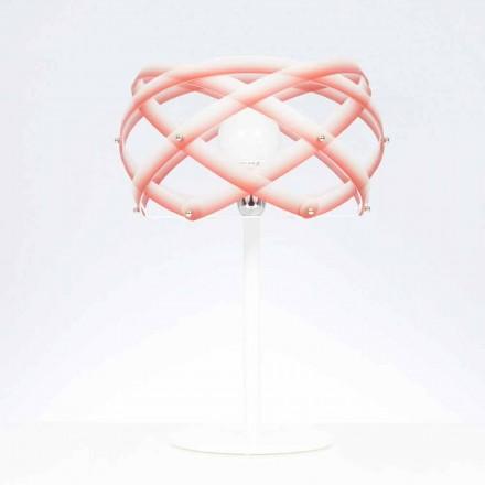 Llambë tavoline Dizajni Vanna, e bërë nga metakrilate me fund të venitur