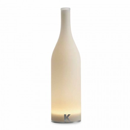 Llambë tryeze e udhëhequr në xham të bardhë me fërkim Dizajn Modern - Shishe