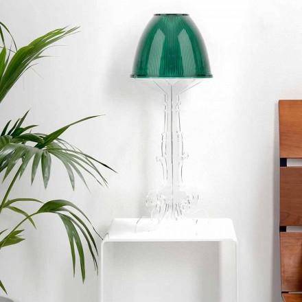 Lexim i dizajnit të lirisë / llambë tryeze me bazën plexiglass, Caneva