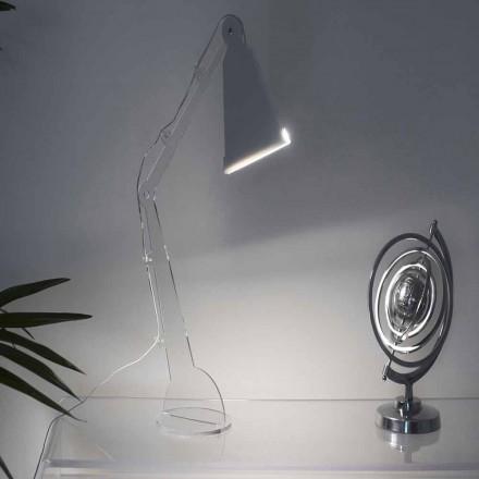 Tabela / llambë leximi me stil Tecno me dritë LED, Flero