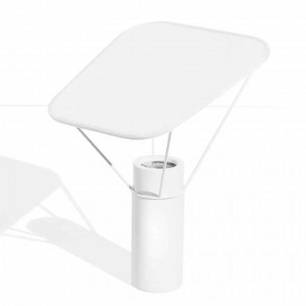 Llambë tavoline moderne në rrëshirë dhe pambuk të bardhë prodhuar në Itali - Fiera