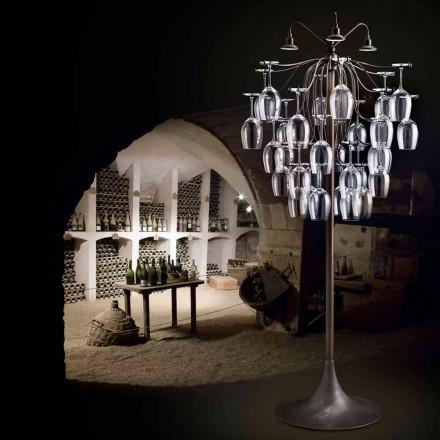 Llambë dyshemeje projektuesi me 30 gota Sauvignon