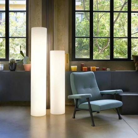 Projektoni llambë cilindrike të ndritshme dyshemeje Slide Fluo, prodhuar në Itali
