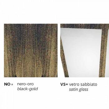 Llambë dyshemeje alumini në natyrë e bërë në Itali, Kristel