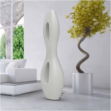 Llambë dyshemeje me model modern, Infinity, e bërë në Itali, e bërë nga Solid Surface