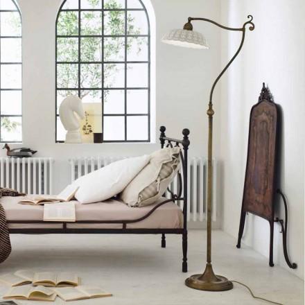 Llambë dyshemeje qeramike e stilit V Viktor Anita Il Fanale, e bërë në Itali