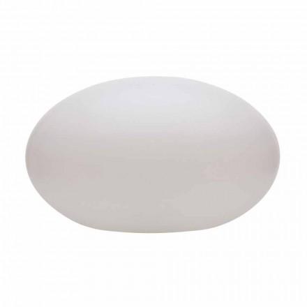 Llambë dyshemeje Led, Solar ose E27 me Dizajn Modern Oval me Ngjyrë - Uovostar