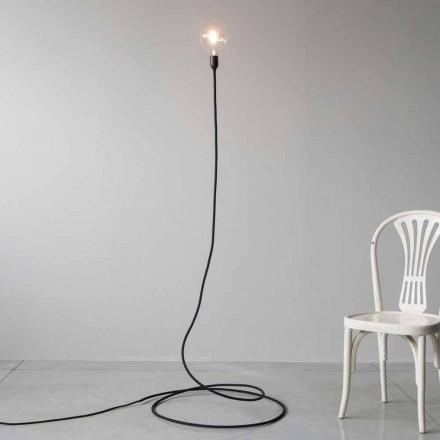 Llambë moderne për dysheme në bakër dhe pambuk të punuar me dorë prodhuar në Itali - Guapa