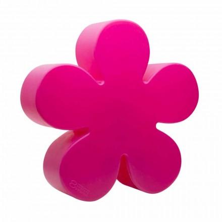 Llambë dyshemeje ose tavoline në formën e një lule me ngjyrë, sulm diellor - Fiorestar