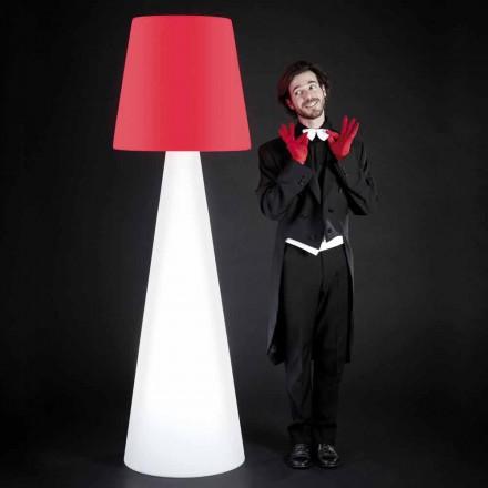 Dizajnoni llambën e brendshme të bardhë të dyshemesë Slide Pivot, prodhuar në Itali