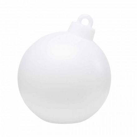 Llambë dekori për ambiente të mbyllura ose të jashtme, Top i bardhë i Krishtlindjeve - Pallastar
