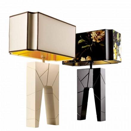 Llambë tavoline dizajni modern në dru të ngurtë Grilli Zarafa bëri Italinë