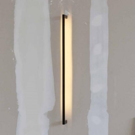Llambë Muri Moderne e punuar me dorë në hekur të Zi Prodhuar në Itali - Pamplona