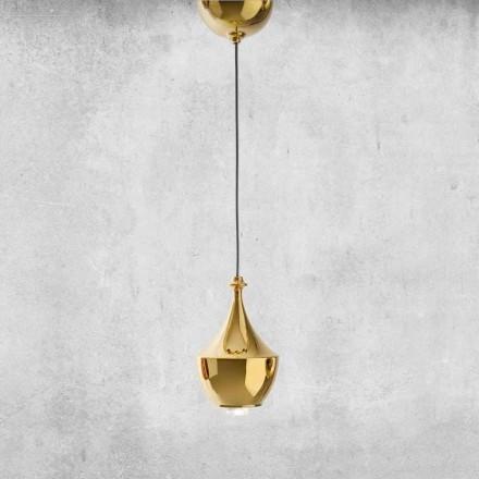 Llambë qeramike e pezulluar LED e prodhuar në Itali - Lustrini L3 Aldo Bernardi