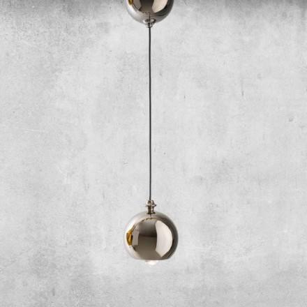 Llambë moderne e pezulluar në qeramikë e bërë në Itali - Lustrini L5 Aldo Berrnardi