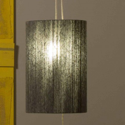 Llambë e pezulluar / dysheme prej bronzi dhe leshi të bërë në Itali Evita