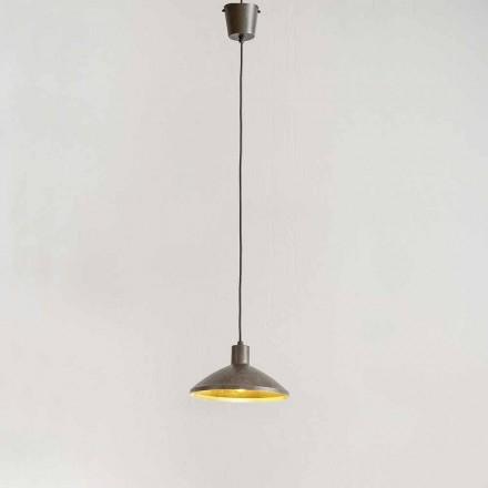 Llambë pezullimi në diametrin e çelikut antik 310 mm - Materia Aldo Bernardi
