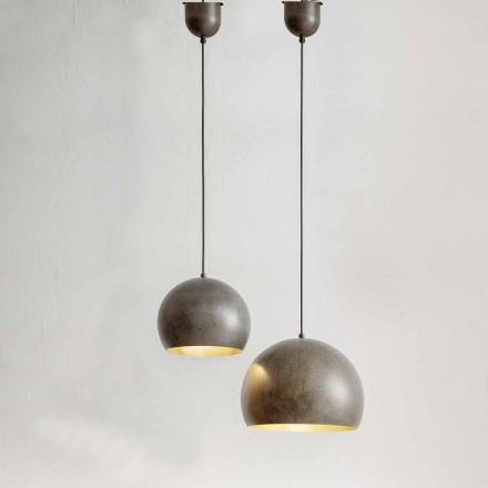 Llambë e pezulluar në Diametrin e çelikut 300 ose 400 mm - Materia Aldo Bernardi