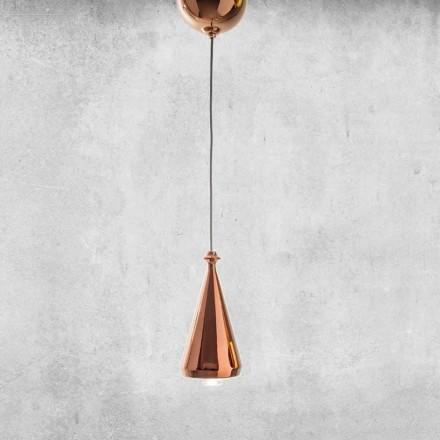 Dizajn LED llambë e pezulluar në qeramikë - Lustrini L2 Aldo Bernardi