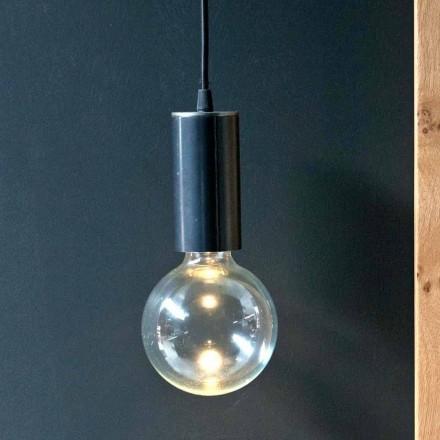 Llambë e varur në hekur dhe xham me kabllo pambuku prodhuar në Itali - Ampolla