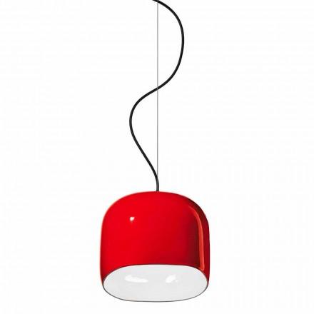 Llambë pezullimi stil modern në qeramikë të bërë në Itali - Ferroluce Ayrton