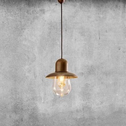 Llambë e pezulluar e cilësisë së mirë me reflektor bronzi - Guinguette Aldo Bernardi