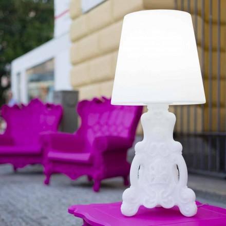 Dizajnoni llambë tavoline të ndritshme Slide Lady of Love, prodhuar në Itali