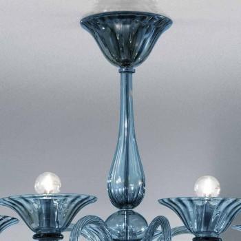 5 Llambadar qelqi artizanal nga Venecia, prodhuar në Itali - Margherita