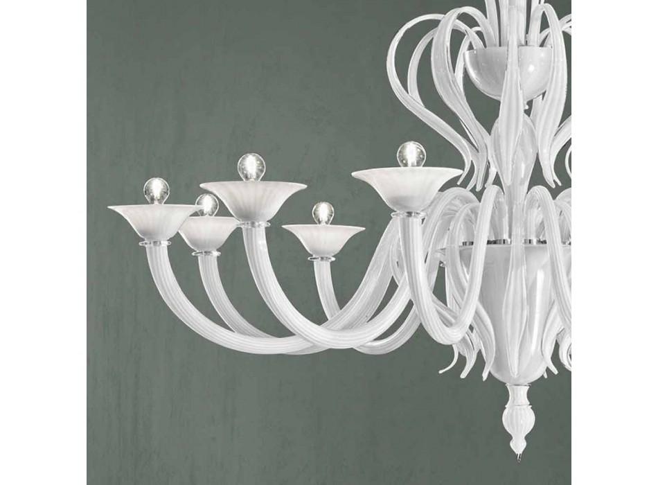12 Dritat Llambadar qelqi Venecia i punuar me dorë në Itali - Agustina