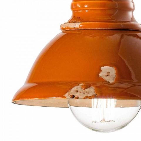 Dizajn llambadar qeramikë të punuar me dorë të punuar me dorë Cameron Ferroluce