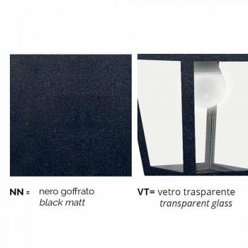 Kristel, tre drita llambë kopshti alumini të bëra në Itali