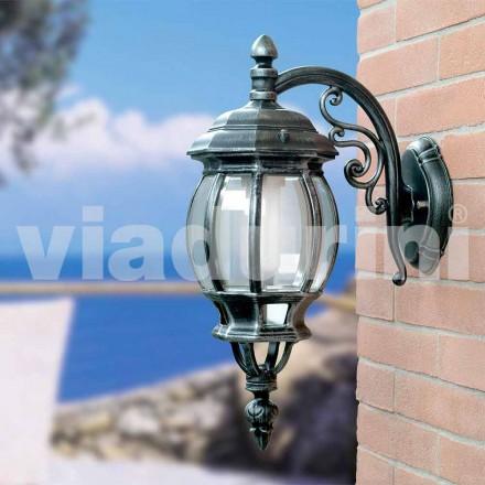 Feneri i murit të kopshtit i bërë me alumin, prodhuar në Itali, Anika