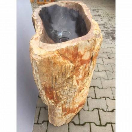 Lavaman i punuar me dorë i bërë prej guri natyral Ley
