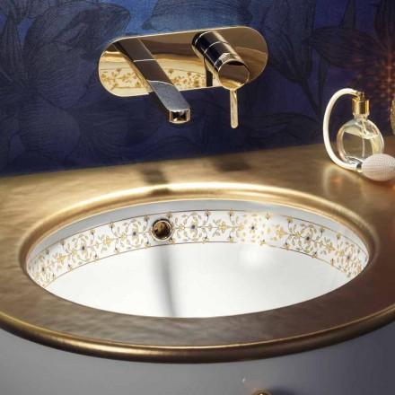 Dizenjoni lavaman të integruar barok në argjilën e zjarrit të bërë në Itali, Egeo