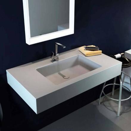Dizajni lavaman modern me varëse në Luxolid bërë 100% në Itali, Ruffano