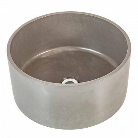 Dizenjoni lavamanin rrethues të countertopit në çimento Rivoli