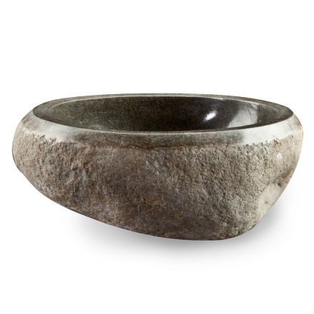 Lavaman countertop artizanal në lumin Modern Modern Stone - Aurea