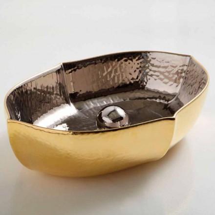 Lavatrice countertop countertop ari dhe platinium Oscar, e bërë në Itali