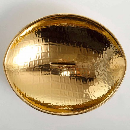 Kafshë prej ari countertop enë qeramike, të bëra në Itali, dizajn modern