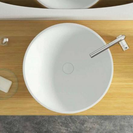 Larja e banjës së banjës me countertop me dizajn modern të bëra në Itali, Donnas