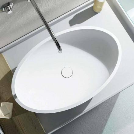 Dizajni i lavamanit ovale countertop prodhuar 100% në Itali, Frascati
